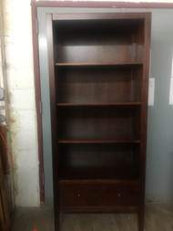 Cherry Bookcase with Drawer