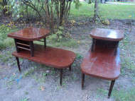 2 Vintage Modern End Tables