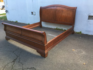 King Size Mahogany Sleigh Bed