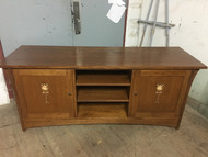"Stickley 62"" Oak Harvey Ellis TV Console"