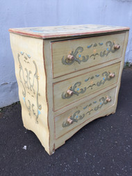handpainted 3 Drawer Bombay Dresser