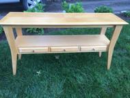 Maple Sofa / Foyer Table