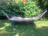 Cast Metal Hammock Stand w/ 6ft Hammock