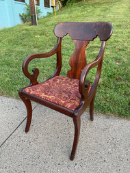 Antique Empire Arm Chair