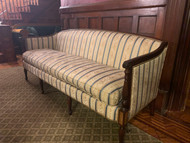 Antique Traditional / Formal Mahogany Sofa