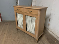 French Paneled Hall Cabinet