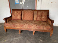 Gorgeous wood framed sofa
