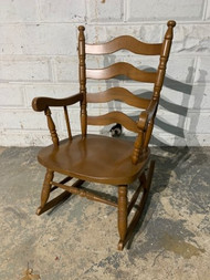 Maple rocking chair  with cushion