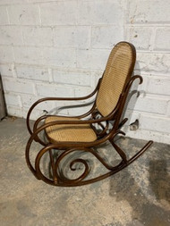 bent wood rocker
