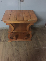 vintage empire style end table
