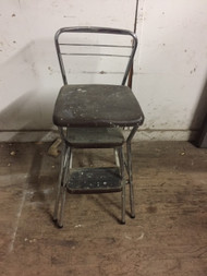 vintage chrome stool/chair