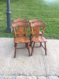 moose head maple chairs