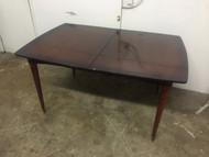 Mid century modern mahogany dining table