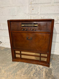 Philco record radio cabinet