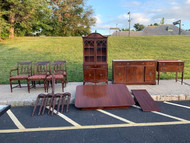 10pc mahogany dining room set