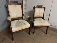 Pair of East lake chairs