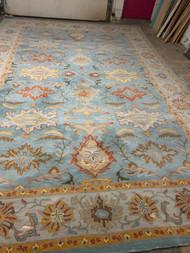 12' wide x 18' long wool rug