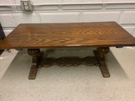 antique Solid oak coffee table