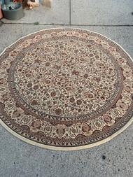 """94"""" round rug"""