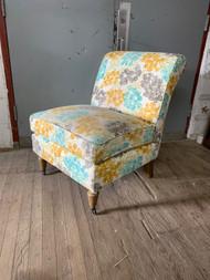 Accent slipper chair