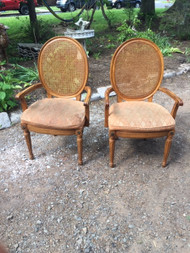 Thomasville caned chairs