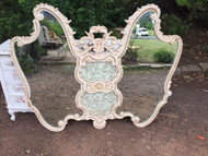French provincial butterfly mirror