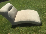 Mint green chaise lounge