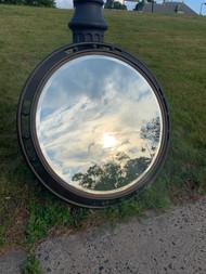"Oil rubbed bronze Beveled mirror 38"" diameter"