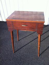 Vintage Modern Singer Sewing Machine Cabinet