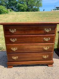 Cherry four drawer dresser