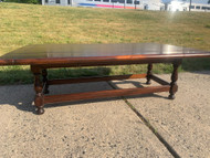 Dark Pine drop leaf coffee table