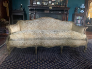 French gold sofa from France