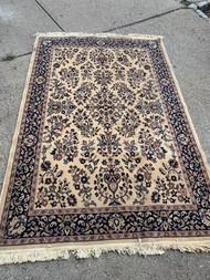 5ft x 7.5ft oriental area rug