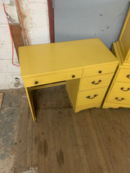 Yellow french desk