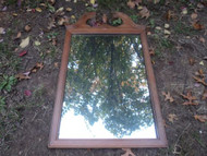 Tall Maple Mirror