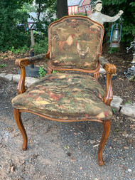 Rooster arm chair