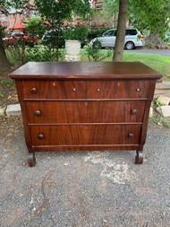 Mahogany empire 4 drawer