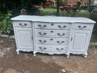 White french provincial buffet