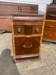 art deco nightstand .