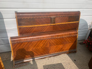 art deco full size bed.