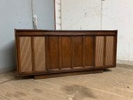 mid century modern radio and record cabinet