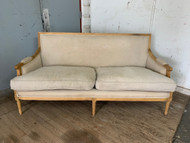 Linen French style sofa
