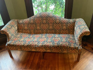 Antique Camel back sofa
