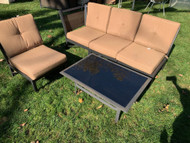 5 piece Patio sectional with coffee table