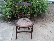 Antique Chair Caned Seat