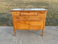 Antique oak Victorian sideboard