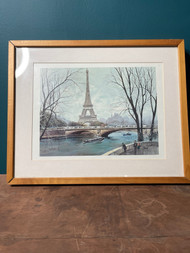 Georges B - Paris Eiffel Tower Lithograph