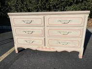 French 6 drawer dresser