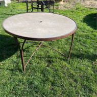 "48"" round patio table"