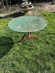 "41"" iron patio table"